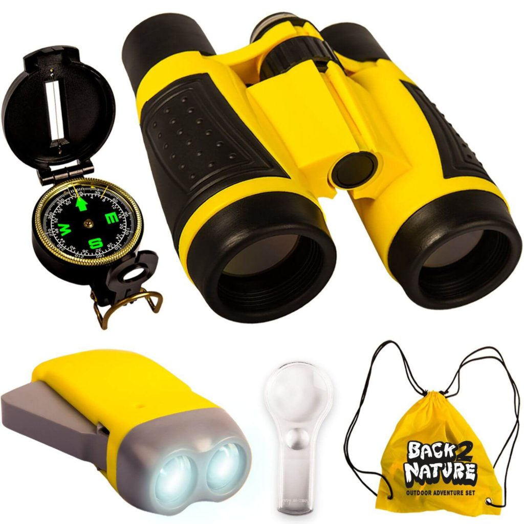 Back 2 Nature Outdoor Toy Set - Kids Binoculars