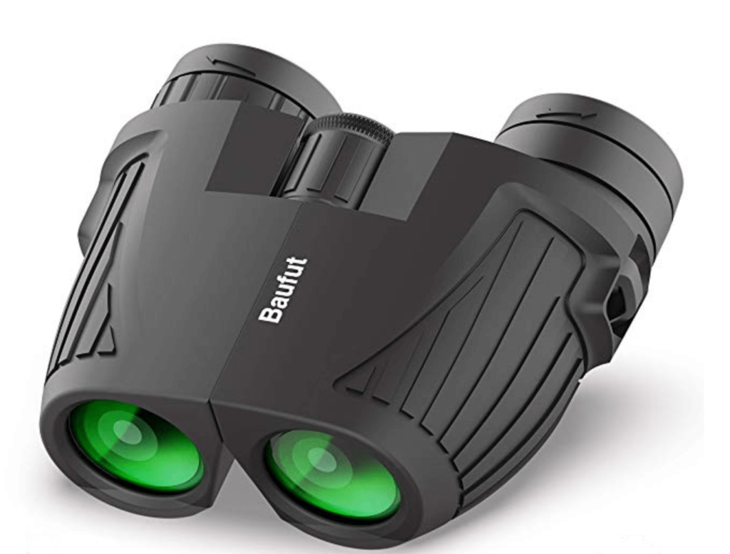 Baufut Compact Binoculars for adults, Kids 12x25