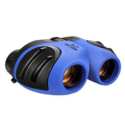Dreamingbox Compact Shock Proof Binoculars for Kids