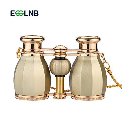 ESSLNB Opera Glasses Binoculars 4X30mm gold