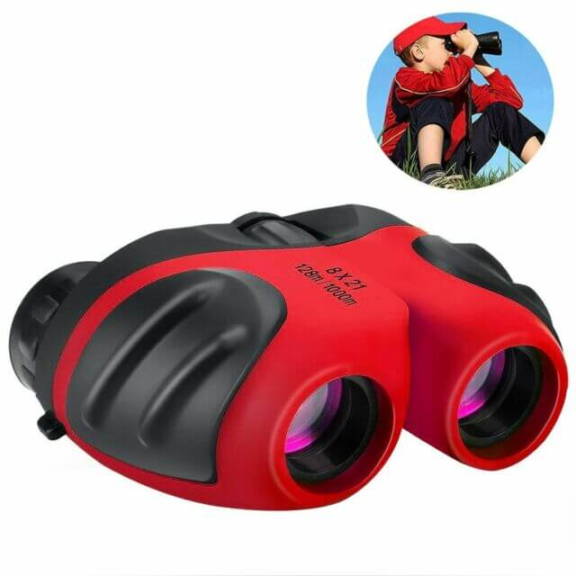 LETS GO DIMY Compact Watreproof Binocular for Kids 8x21