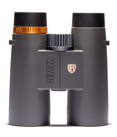 Maven C1 10X42mm ED Binoculars Gray:Orange