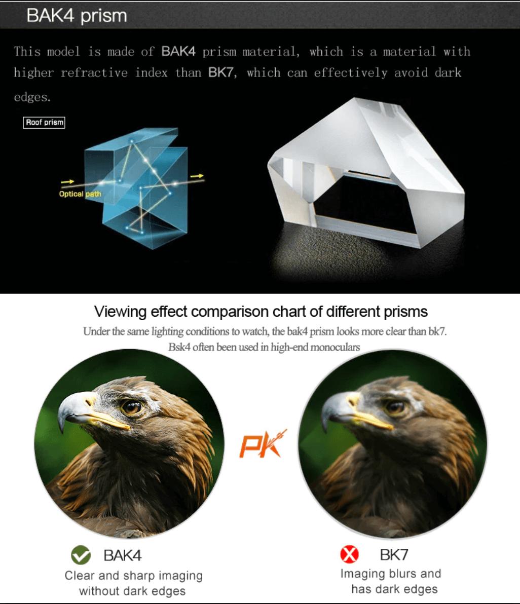 avoid low quality optics