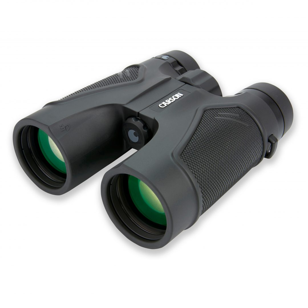 Carson 3D Series High Definition Waterproof Binoculars, 10x42