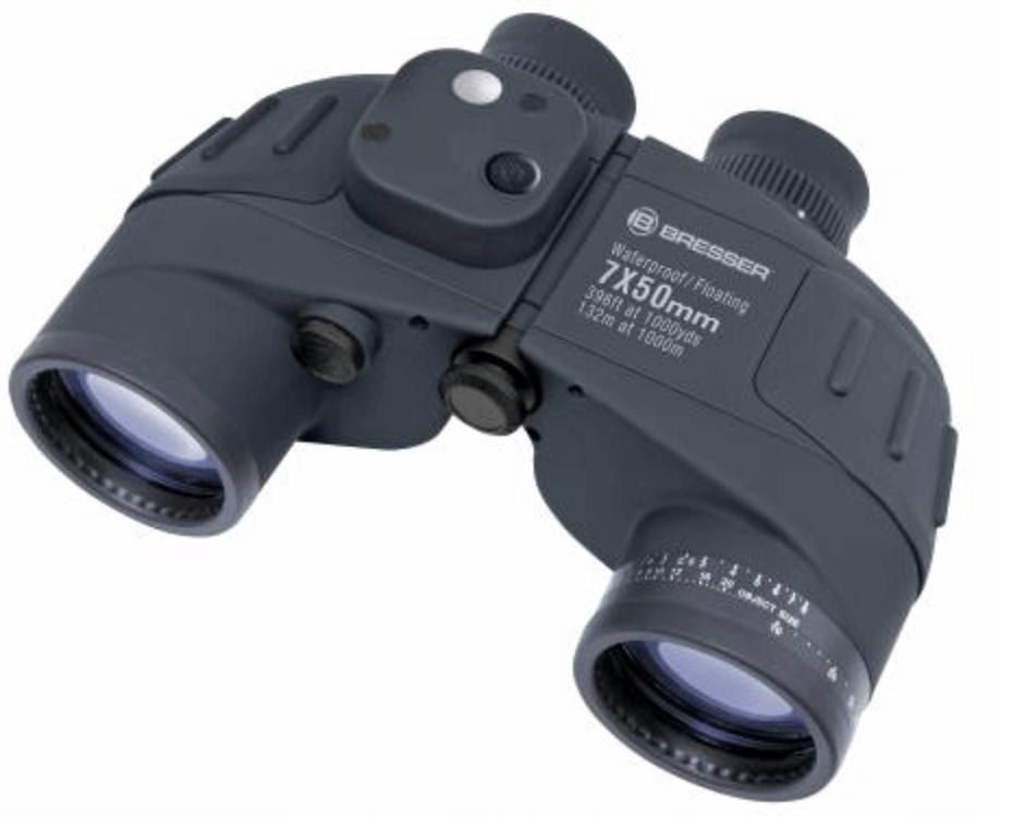 Bresser Nautic 7x50 WD compass binoculars