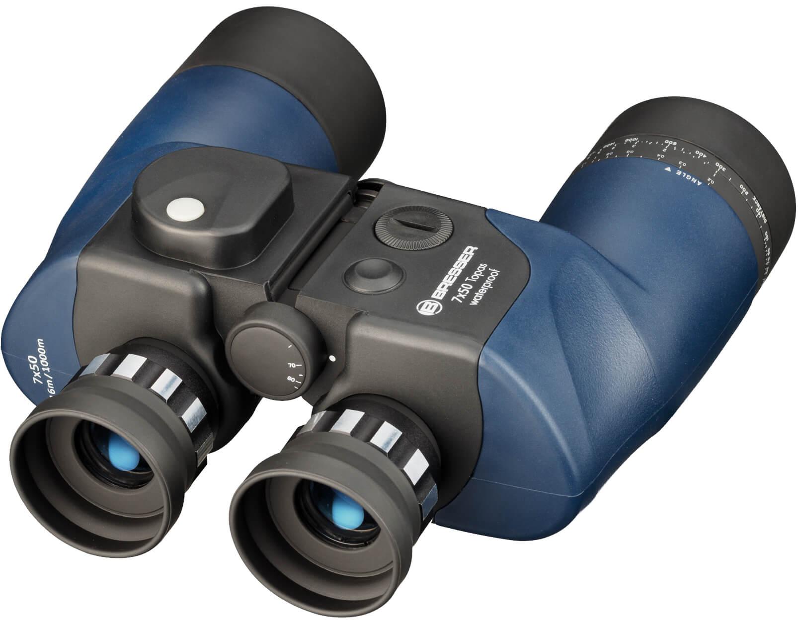 Bresser Topas 7×50 WP compass binoculars