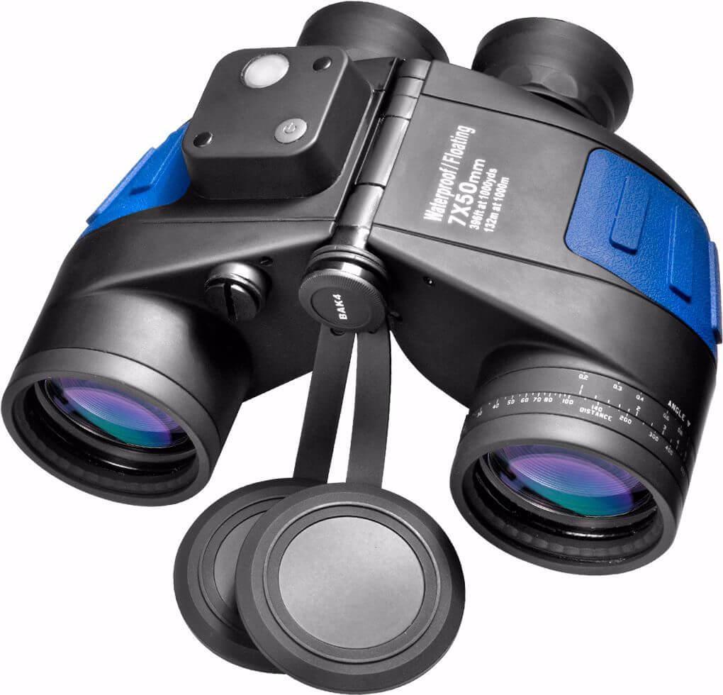 7x50 WP Deep Sea Floating Range Finding Binoculars
