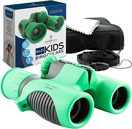 Binoculars for Kids High Resolution 8x21 (ThinkPeak)