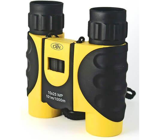 OutNowTech Compact Binoculars for Kids-10x25