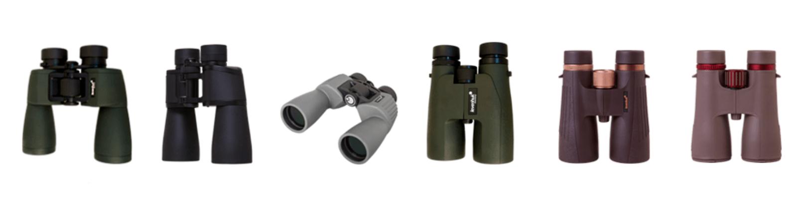 types of levenhuk binoculars